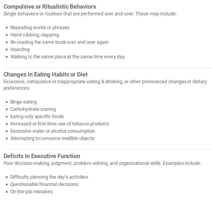 FTD Behaviors