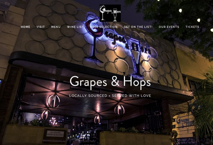 Grapes & Hops