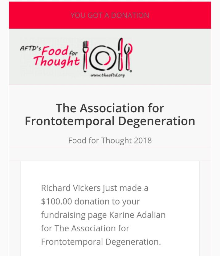 RV donation
